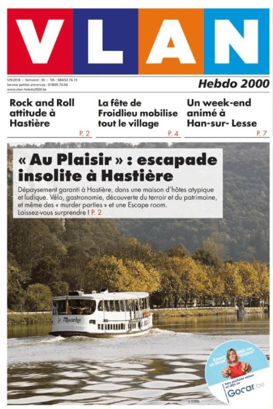 Au Plaisir - Hastière - VLAN - B&B - insolite - maison d'hôtes